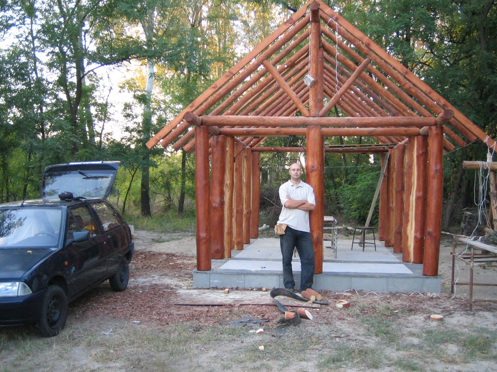 Pdf plans cabin plans post and beam download log cabin for Cabin construction plans