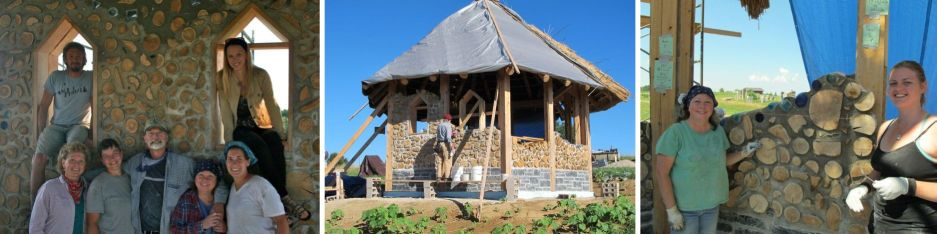 Photos of the Kinstone Chapel project from 2012.  In 2013 we will be holding two, two-day workshops on May 18-19 and July 13-14.  If you are interested, consider registering for a hands-on cordwood experience!