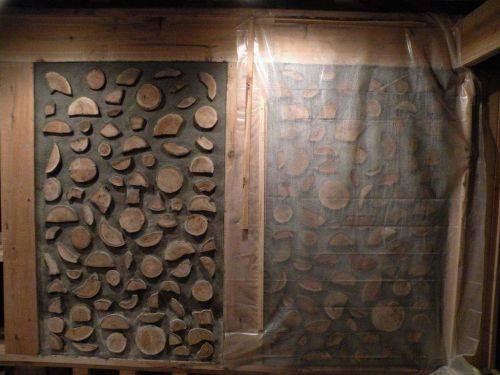 Paul Harney cordwood wall 2