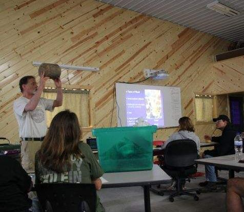"Classroom time is devoted to ""Best Practices"" with cordwood that have been hard won during 34 years of cordwood living, building and sharing."