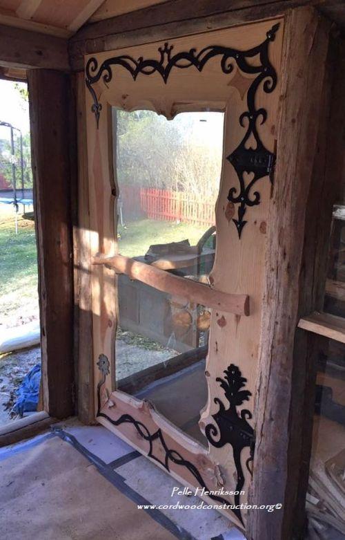 pelle henriksson door sauna
